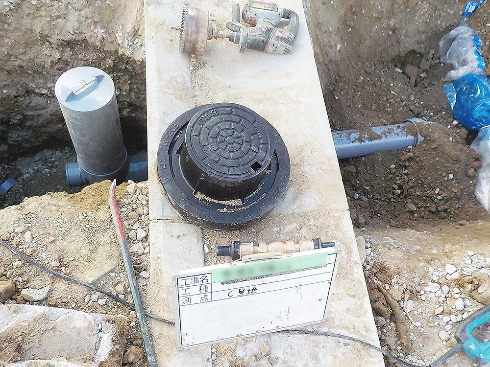 排水管各号地引込