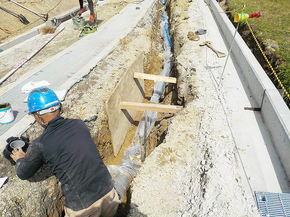 小畑設備工業,土木工事,引き込み,設備工事,配管工事,水道工事,水回り,リフォーム,修理,